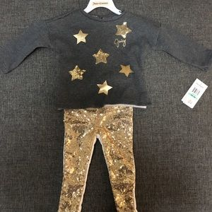BNWT 18 month old Girls Juicy Couture Outfit